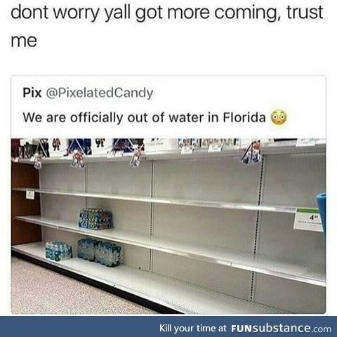 Why buy water when you can get them for free