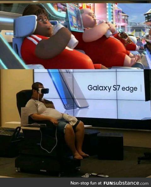 Wall-e predicted the future!