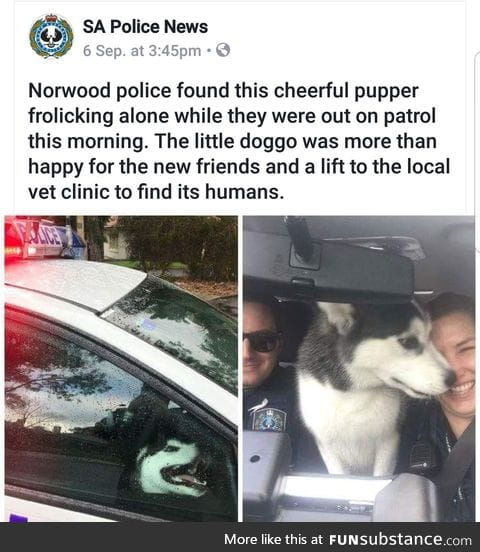 Police is cool