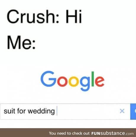 When crush text for the first time