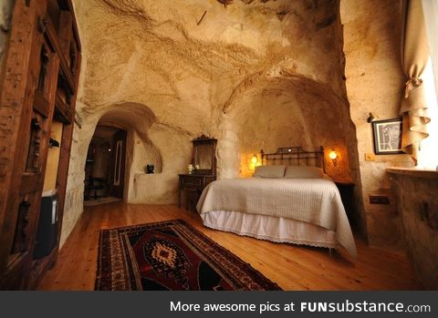House in a cave