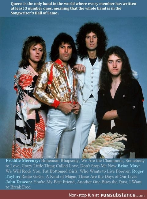 Queen is a legendary band
