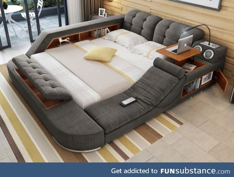 If I could have one thing in life, it'd be this bed