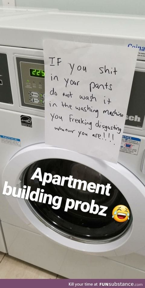 Apartment building probz