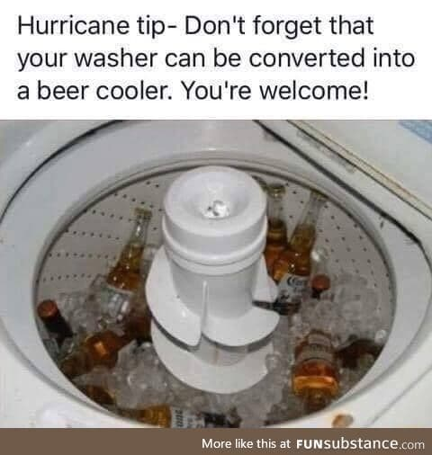 Hurricane survival tip
