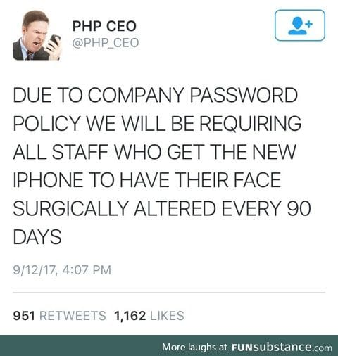 Your password will expire soon