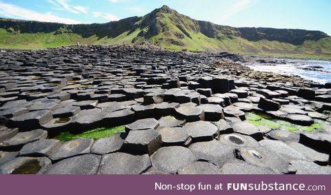 Giant's Causeway in Ireland