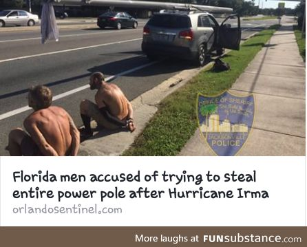 Florida Man finds a friend