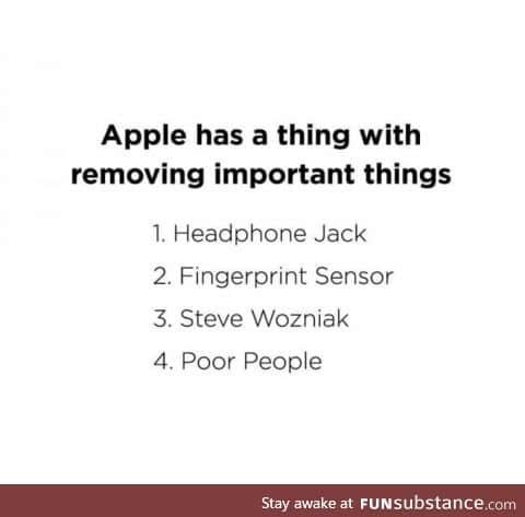 Why Apple?!