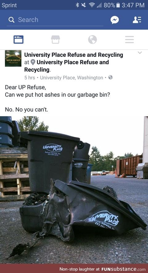 Love when local services actually have a sense of humor