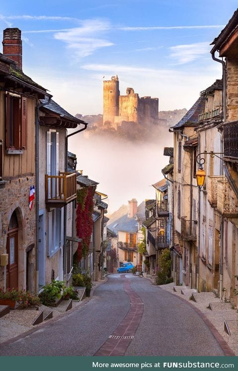 Najac, France - Castle in the Sky