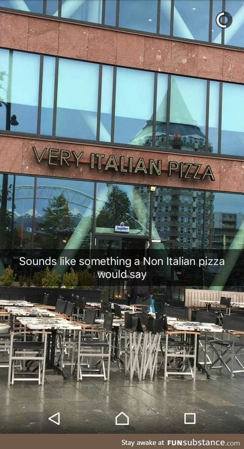 Pizza place in Rotterdam