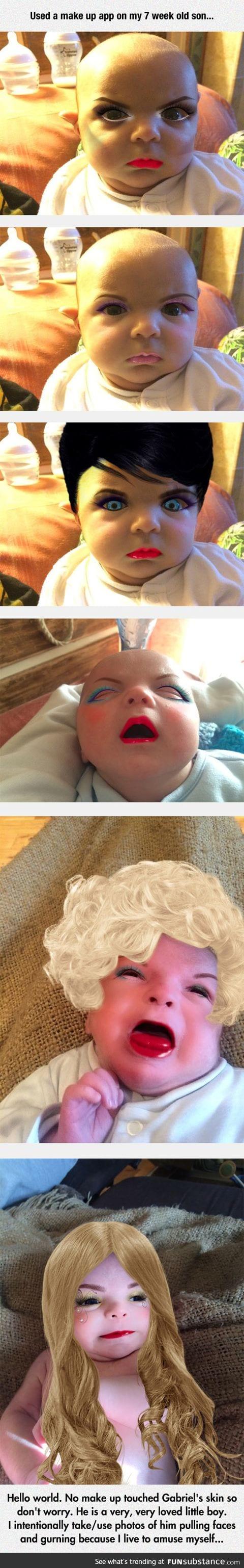Make up app