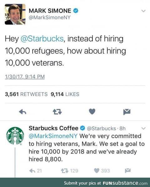 Starbucks smackdown