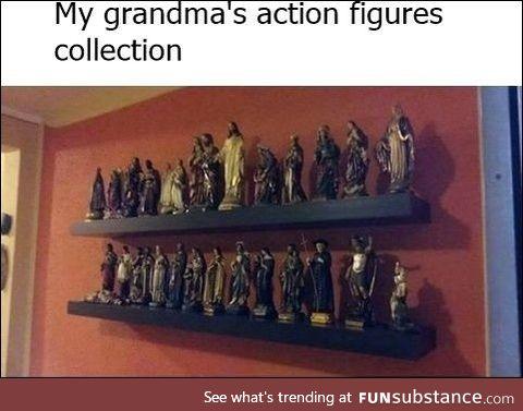 Catholic grandma