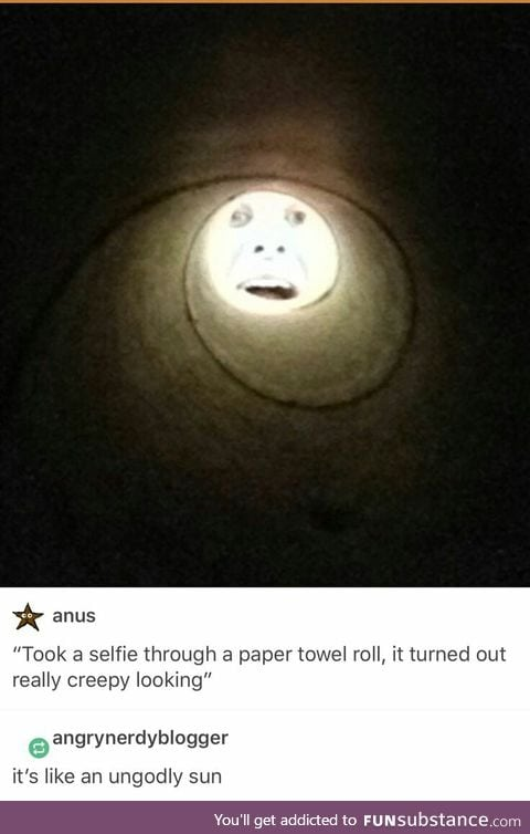 Is that the sun from Teletubbies ??