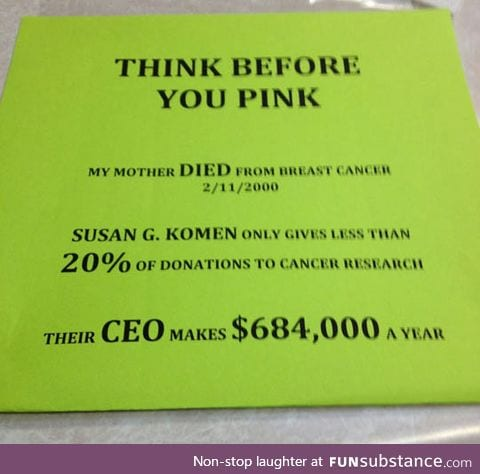 Think before you donate to these people