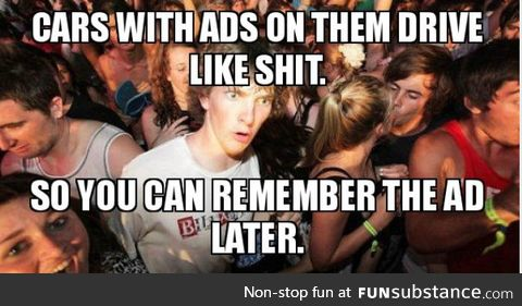 I don't remember the ad otherwise