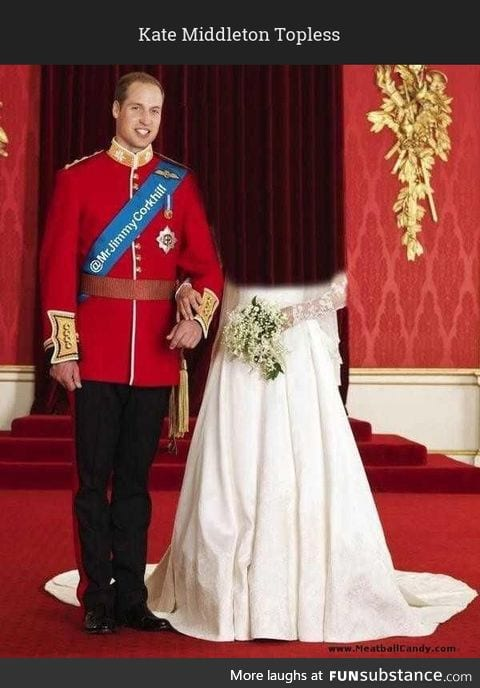 Kate Middleton Topless, not disappointed
