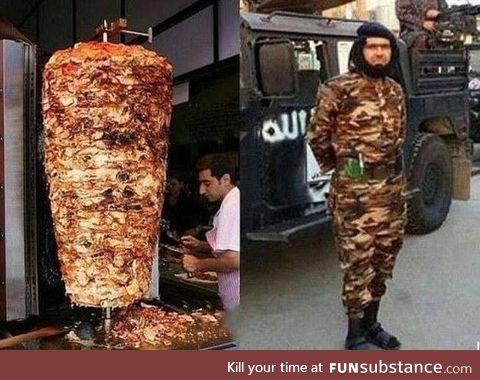 Kebab camo