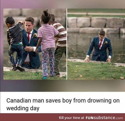 Not all heros wear a cape