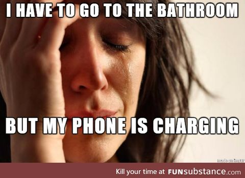 The single worst First World Problem there is