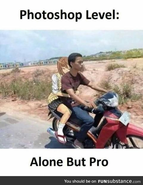 A man with that skill should have a gf