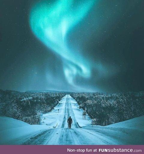 Phenomenal Northern Lights Display near Tromsø, Norway