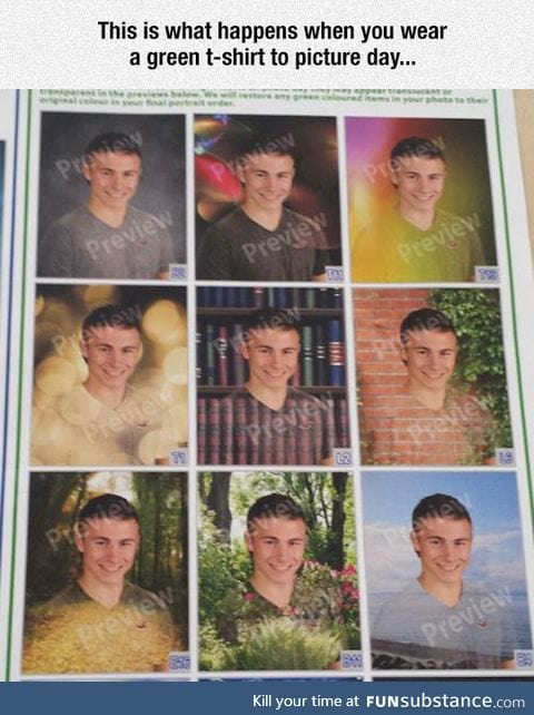 Picture day goes wrong