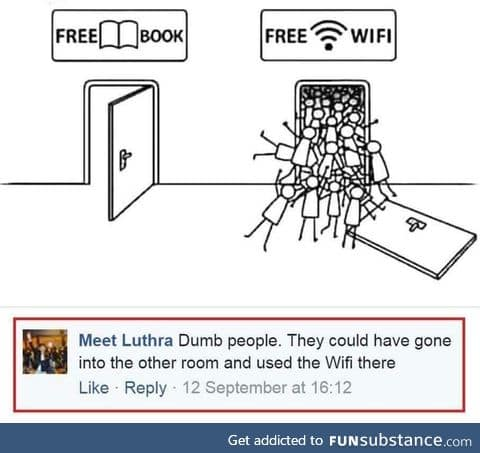 Free WIFI folks!