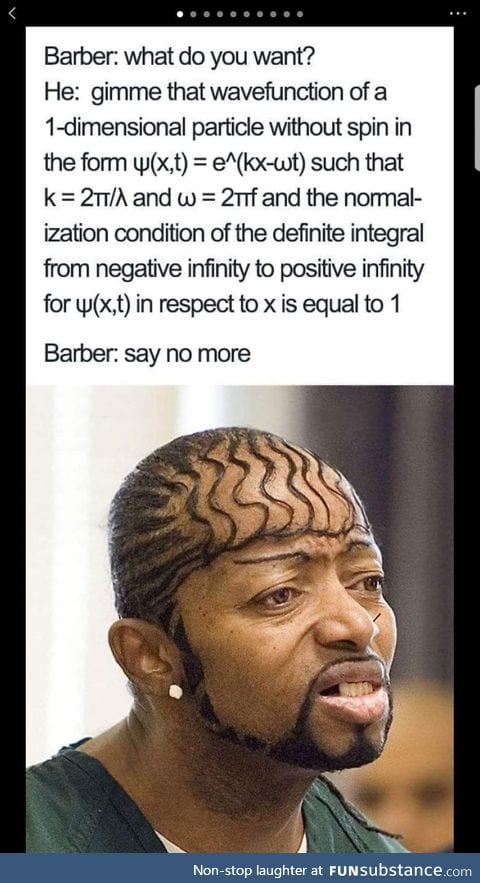That is why barbers need to learn math