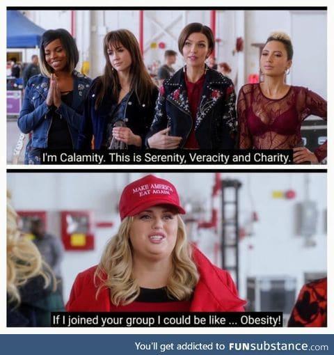 I'd be Obesity too