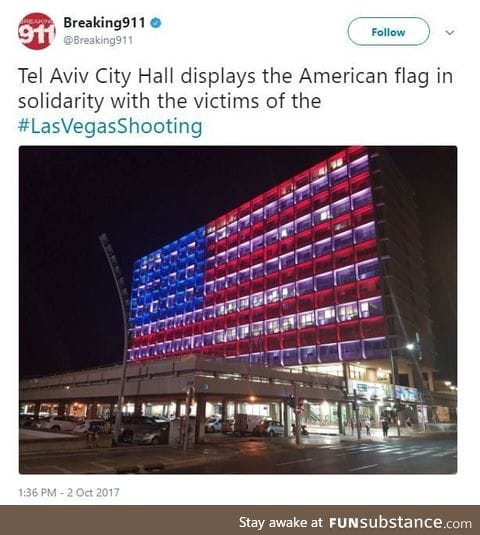A show of solidarity after America's national tragedy