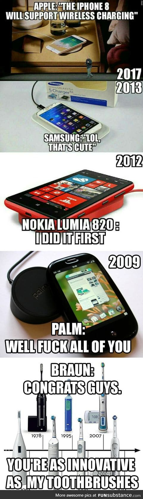 Wireless charging is old