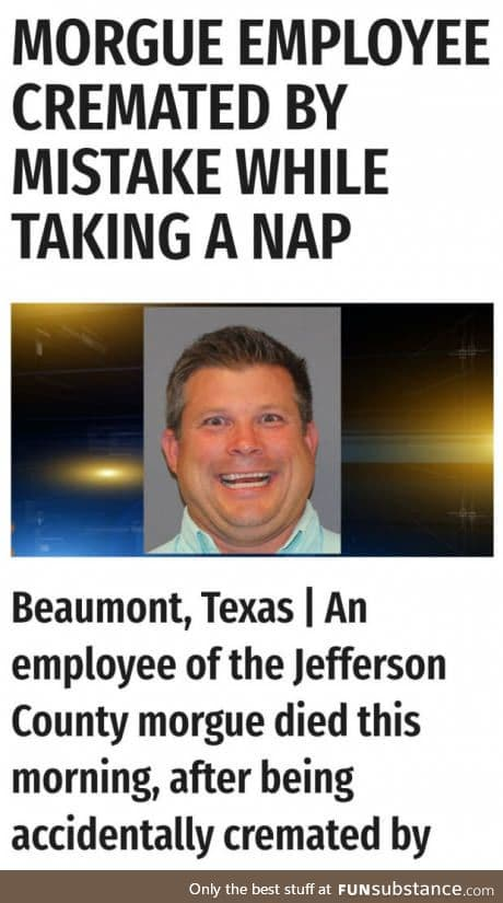 Taking a nap can kill you