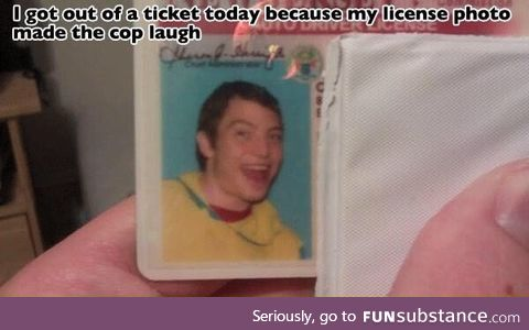 Your license photo might save you a ticket