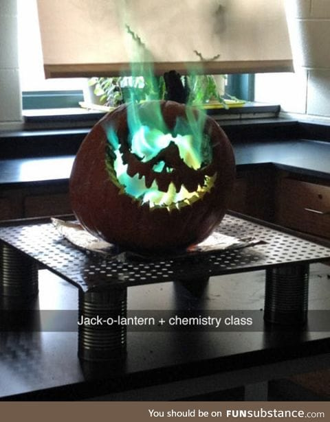 Science class just got a lot more interesting