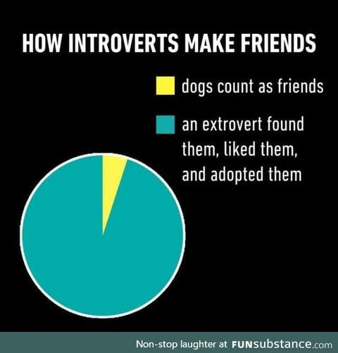 Or stay in introvert foster care for life.