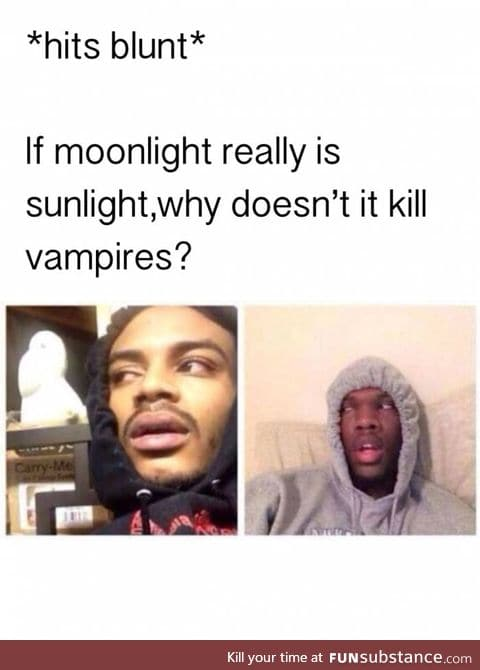 Why doesn't moonlight kill vampires