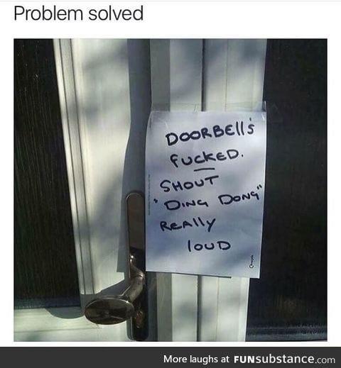 Organic door bells