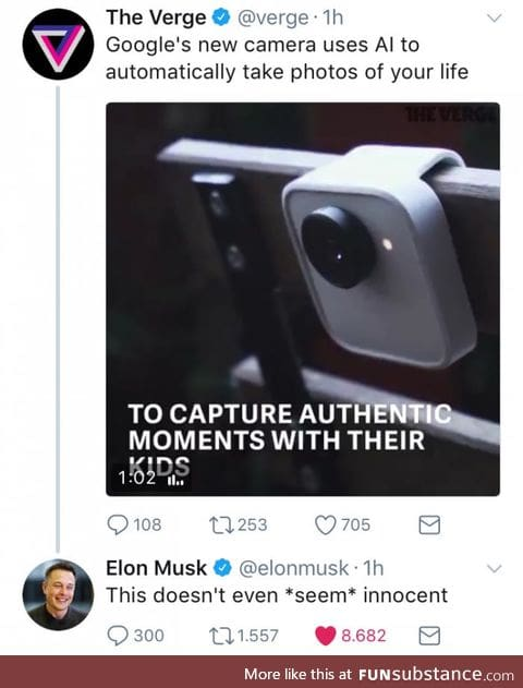 Google can't sneak anything past Elon