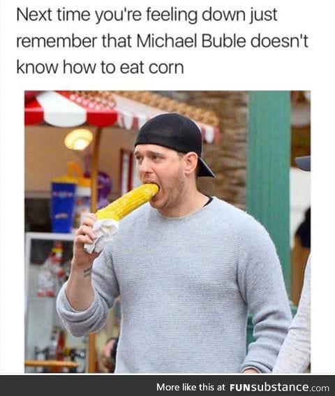 Who says he eating ;)
