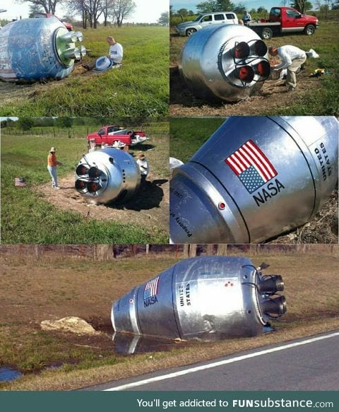 Painting a cement truck crash in Oklahoma