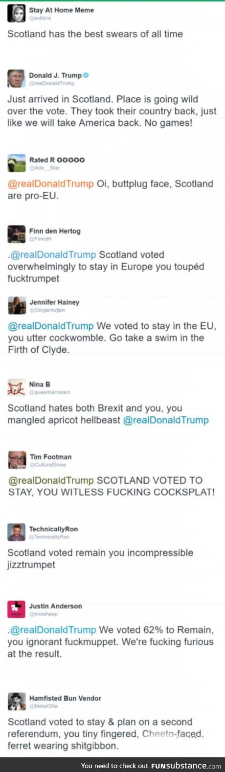 Scottish insults are the best