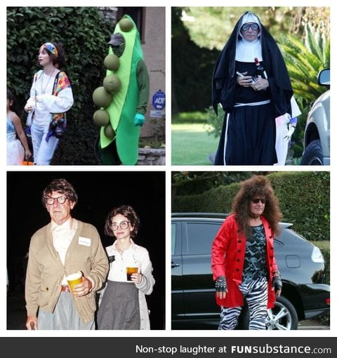 Harrison Ford's Halloween costumes: A series