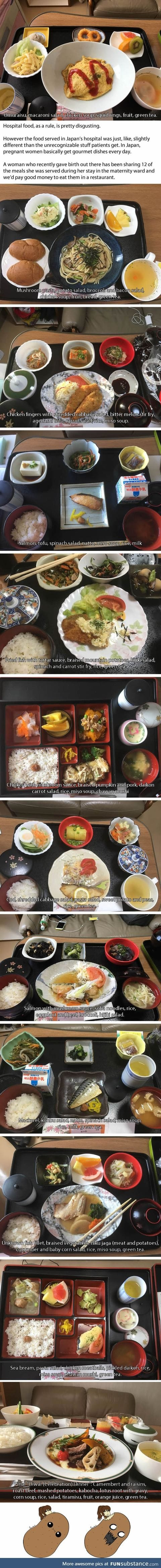 Woman Who Gave Birth In Japan Shares the Delicious Food She Had In The Hospital