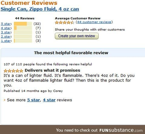The only Amazon review a prospective buyer needs to read