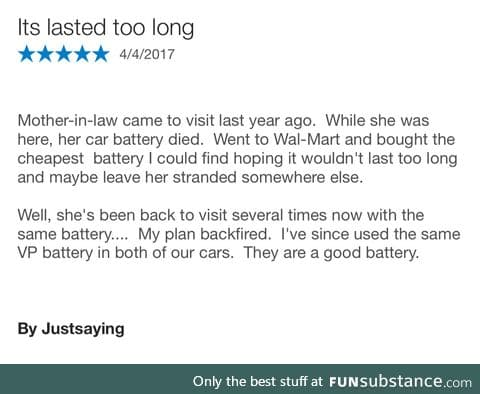The best car battery review ever