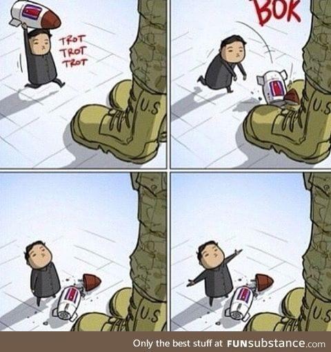 North Korea vs US