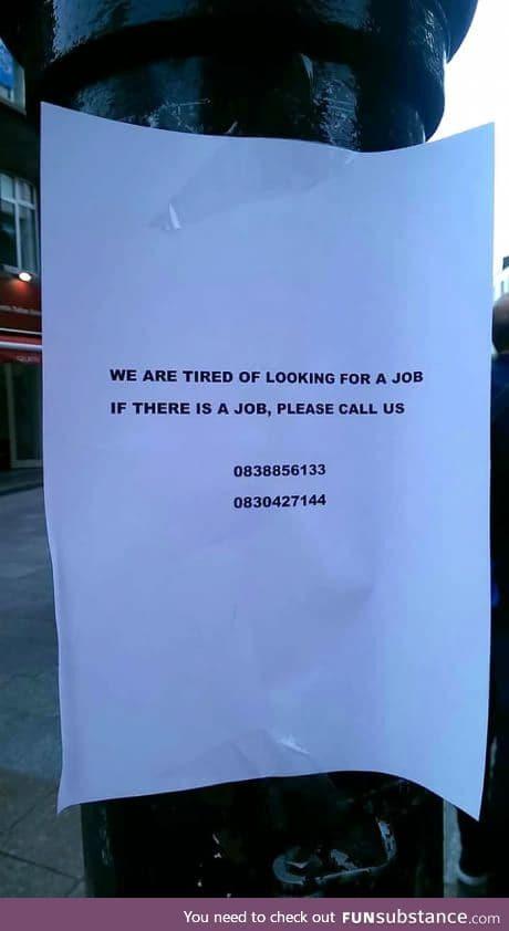 Meanwhile on Grafton Street, Dublin